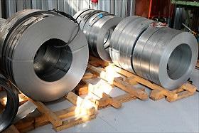 nastri acciaio per serrande
