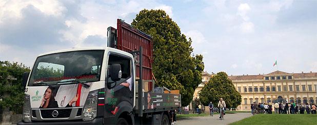 Porta basculante a Monza