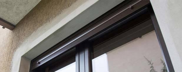 Inferriate blindate con zanzariera - Zanzariere per finestre genova ...