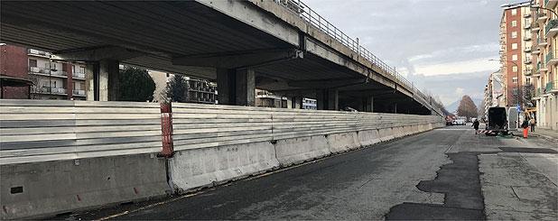 Recinzione da cantiere a Torino
