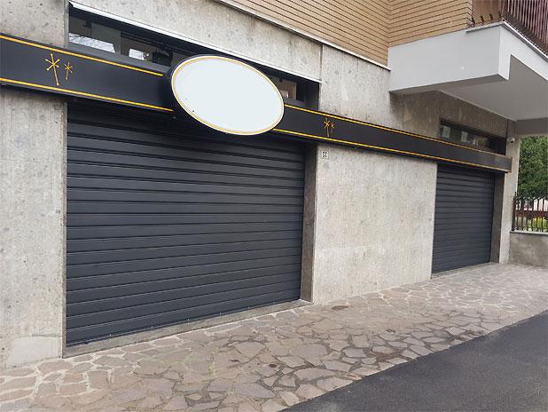 serranda negozio garage