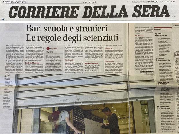 Corriere Covid