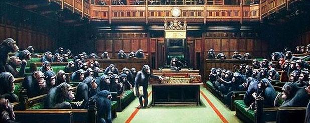 parlamento Bansky